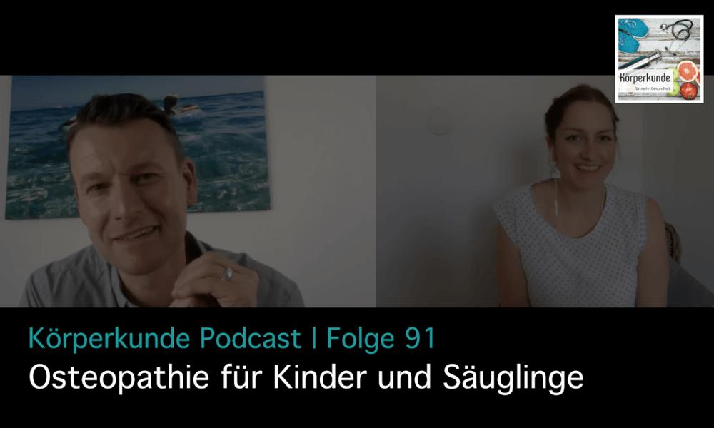 Osteopathie für Kinder und deren Eltern Interview mit Stefan Rieth I #092